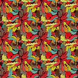 Abstract colored seamless pattern for your design Royalty Free Stock Photography