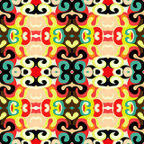 Abstract colored seamless pattern for your design Royalty Free Stock Images