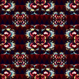 Abstract colored seamless pattern for your design Stock Photography