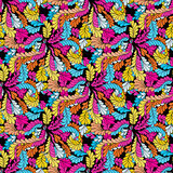 Abstract colored seamless pattern for your design Stock Images