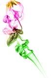 Abstract colored smoke Stock Image