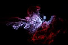 Abstract colored smoke Royalty Free Stock Image