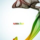 Abstract colored smoke background Royalty Free Stock Image