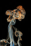 Abstract colored smoke Stock Photo