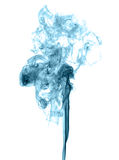 Abstract colored smoke. On a light background Royalty Free Stock Photography