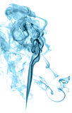 Abstract colored smoke. On a light background Stock Photos