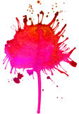 Abstract colored spot Stock Photography