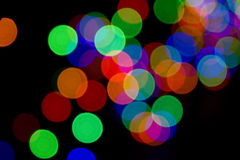 Abstract colored spots Royalty Free Stock Photos