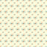 Abstract colored stars on a light background seamless pattern vector illustration Royalty Free Stock Photography