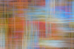 Abstract of Colored Streaks. Blurred, multi-colored streaks in criss-cross pattern Stock Photos