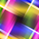 Abstract colored stripes object Stock Image