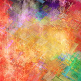 Abstract colored strokes Stock Photography