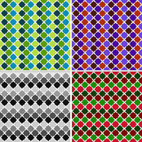 Abstract colored texture in the form of rhombuses Stock Image