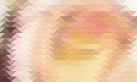 Abstract colored triangles background in warm colors. Abstract colored triangles as background in warm colors Royalty Free Stock Photo