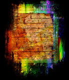 Abstract colored wall background Stock Photography