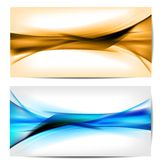 Abstract colored wave on background Royalty Free Stock Photos