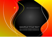 Abstract colored waved background Royalty Free Stock Image