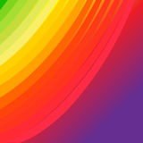 Abstract colorful arc striped background Stock Images