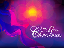 Abstract colorful artistic christmas background. Vector illustration Stock Image