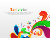 Abstract colorful artistic explode background vector illustration. For banner Vector Illustration