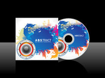 Abstract colorful artistic music cd Stock Photo