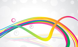 Abstract colorful backgound. With gray background vector royalty free illustration