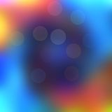 Abstract colorful background. With bokeh effect Royalty Free Stock Photo