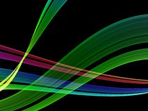Abstract colorful background. High quality render Stock Image
