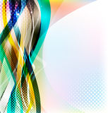 Abstract colorful background. Stock Image