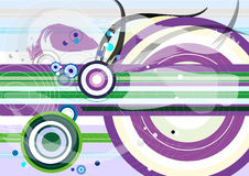 Abstract colorful background. Abstract colorful circle shape background Royalty Free Stock Image