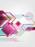 Abstract colorful background. Vector artwork. abstract geometrical background Royalty Free Stock Photography