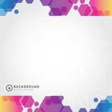 Abstract Colorful Background banner. Vector Illustration royalty free illustration