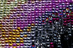 Abstract colorful background of beads Stock Image