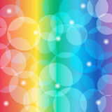 Abstract colorful background. Abstract Beautiful colorful background with glowing elements Stock Images