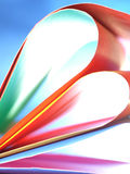 Abstract colorful background. Beautiful background from line, curve of the color paper Stock Photo