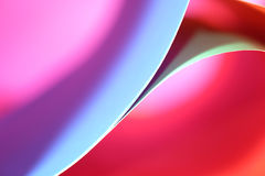 Abstract colorful background. Beautiful background from line, curve of the color paper Royalty Free Stock Photos