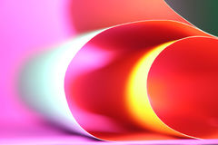 Abstract colorful background. Beautiful background from line, curve of the color paper Stock Image