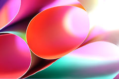 Abstract colorful background. Beautiful background from line, curve of the color paper Royalty Free Stock Photo