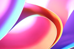 Abstract colorful background. Beautiful background from line, curve of the color paper Royalty Free Stock Image