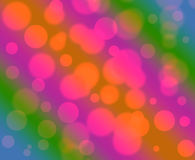 Abstract colorful background with bokeh Royalty Free Stock Photo