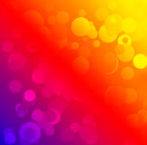 Abstract colorful background with bokeh. Square royalty free illustration