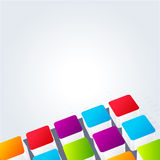 Abstract colorful background for business artworks. . Stock Photography