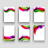 Abstract colorful background for business artworks. . Stock Image