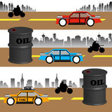 Oil consumption Stock Photography