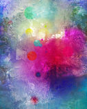 Abstract colorful background composite Stock Photo
