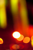Abstract colorful background with defocused lights Stock Photos