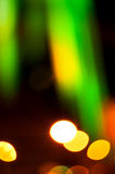 Abstract colorful background with defocused lights Stock Image