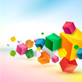 Abstract colorful background design stock illustration
