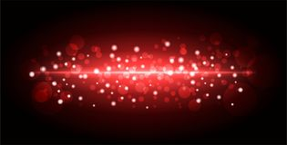 Red background with bright gradient and blur effects royalty free stock photo