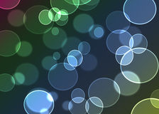 Abstract colorful background digital bokeh effect.  Stock Illustration